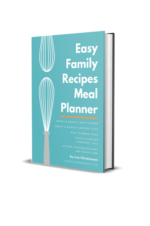 Weekly Meal Planner Ebook