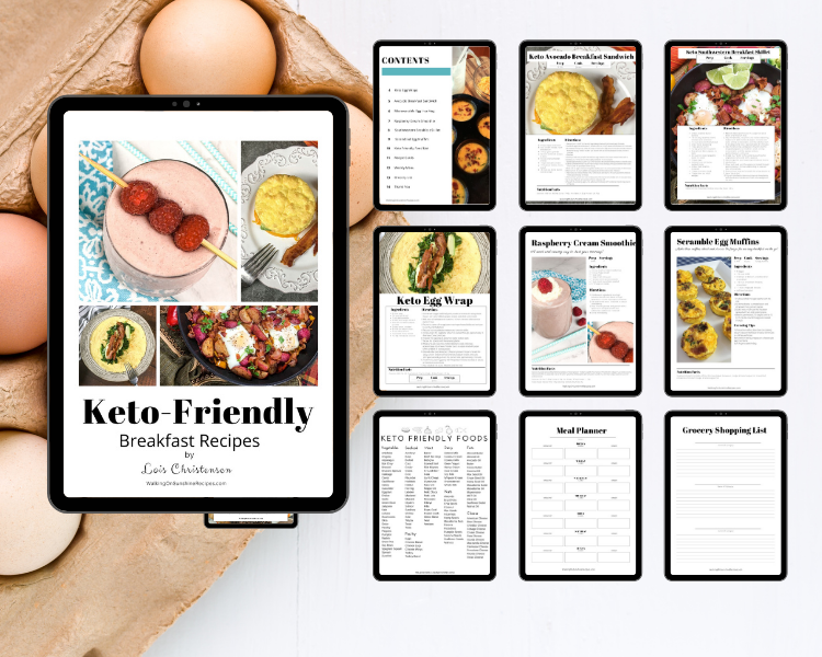 Keto Breakfast Ebook Mockup