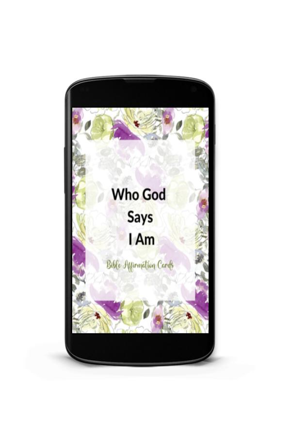 Bible Affirmation Cards